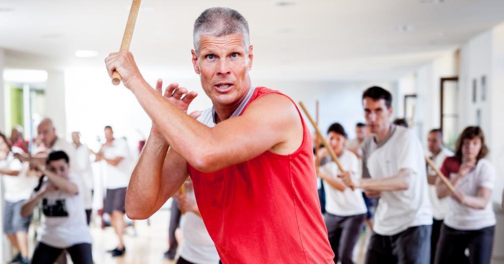 Escrima - Kampfsport der Selbstverteidigung